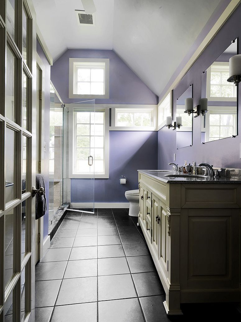 purple paint colors for bathrooms 23 amazing purple bathroom ideas photos inspirations 24023