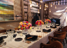 Ralph Lauren Paint Themed Dinner Design