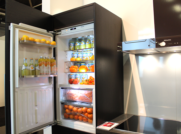 View In Gallery Slim Compact Urban Miele Refrigerator. We Hope You Enjoyed  Our Roundup Of Exciting New Interior Design Trends ...