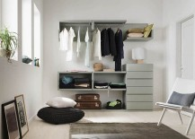 Smart closet saves up on precious space in the bedroom