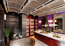 Spa-styled-Asian-bathroom-with-a-splash-of-bright-purple-217x155