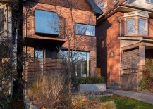 Street facade of the old Toronto home