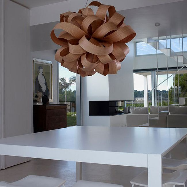 Trendy pendant light that makes plenty of visual impact [Design: Luis Eslava Studio for LZF]
