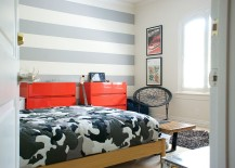 Trendy-stripes-in-the-tween-bedroom-shape-a-lovely-accent-wall-217x155