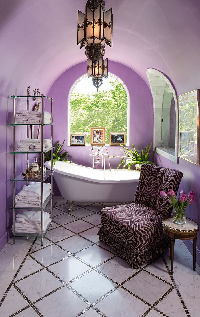 Violet Room Design: 23 Amazing Purple Bathroom Ideas, Photos, Inspirations