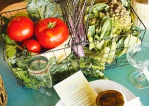 Vegetable Table Setting