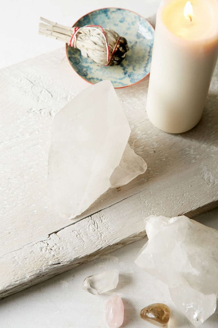 White quartz crystal from Urban Outfitters