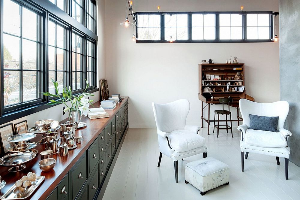 1930s steel-framed factory window inspired additions bring a sense of authenticity