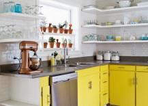 A Beautiful Mess kitchen renovation 217x155 10 Artistic Kitchen Renovations