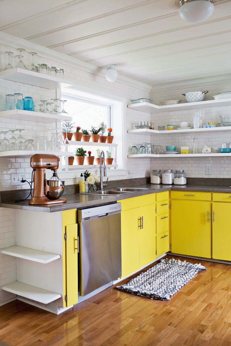 A Beautiful Mess studio kitchen renovation