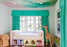 A captivating ceiling for the modern nursery