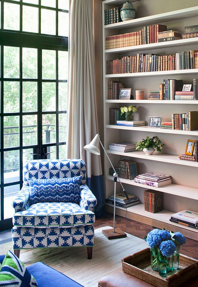 Reading corner with plenty of natural light [Design: Lien Luu Ltd]