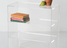 Anthropologie Clear Shelf