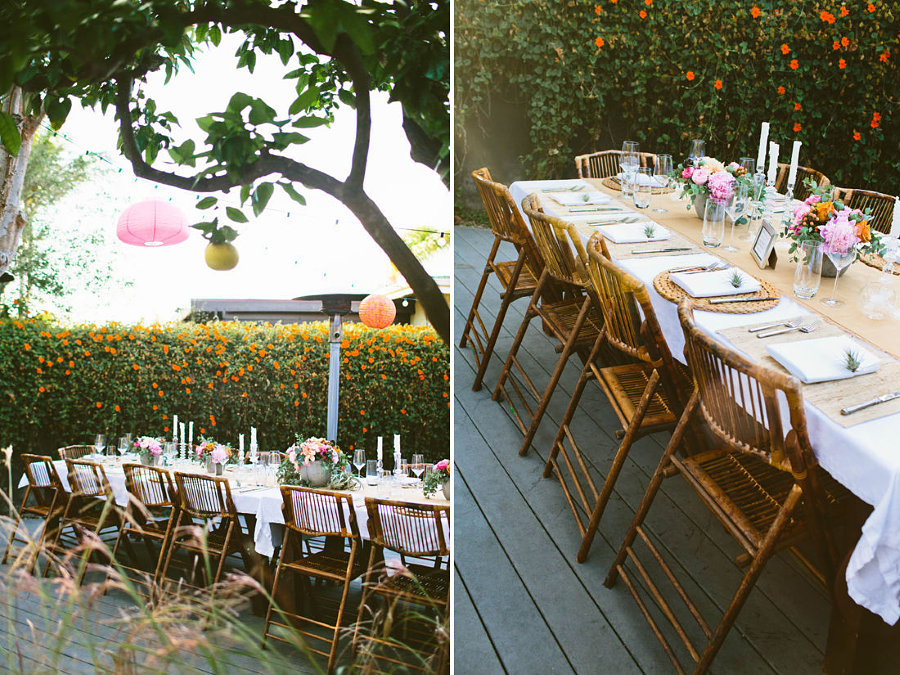Backyard party by Design Love Fest