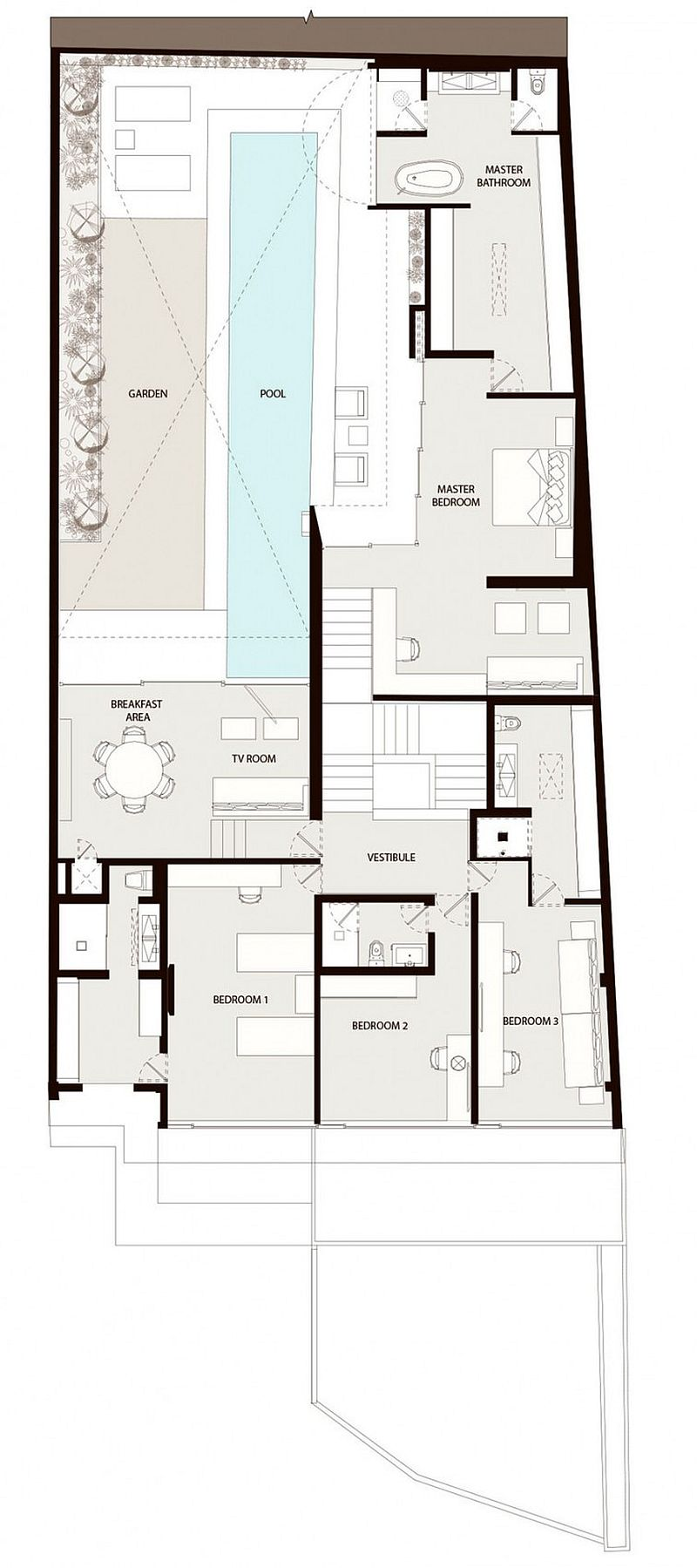 Barrancas House Floor Plan