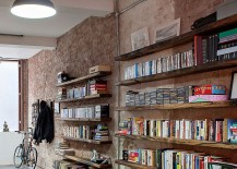 Beautiful and sleek booksehlves crafted from reclaimed wood