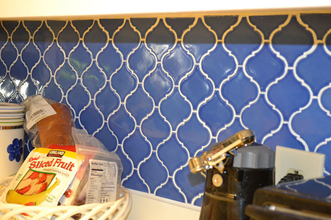 Blue-patterned-tile-backsplash Simple Kitchen Backsplash Ideas On A Budget on kitchen remodeling ideas for small kitchens, kitchen tile, small outdoor kitchens on a budget, kitchen ideas pot storage, kitchen update ideas on a budget, kitchen color ideas with dark floors, kitchen islands on a budget, kitchen upgrades on a budget, kitchen facelift on a budget, kitchen updates on a budget before and after, kitchen design, christmas decorating ideas on a budget, french country kitchen on a budget, kitchen with paint refresh, kitchen storage ideas on a budget, interior design ideas on a budget, kitchen renovations on a budget, small country kitchens on a budget, fireplace ideas on a budget, kitchen remodeling on a budget,