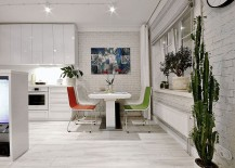 Chairs-add-color-to-the-small-dining-nook-217x155