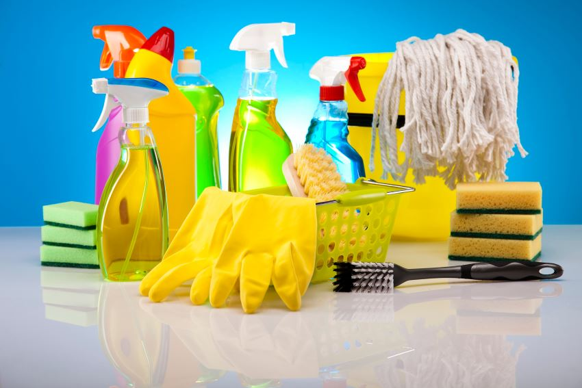 Cleaning products get the job done