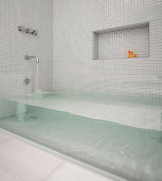View In Gallery Clear Bathtub