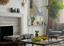 Contemporary New York home with smart Midcentury decor 217x155 Contemporary New York Apartment with Chic Midcentury Vibe