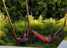 Contemporary take on the classic hammock