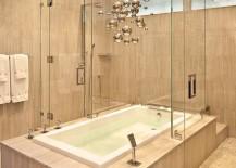 Cool-chandelier-brings-metallic-magic-to-the-minimal-bathroom-217x155