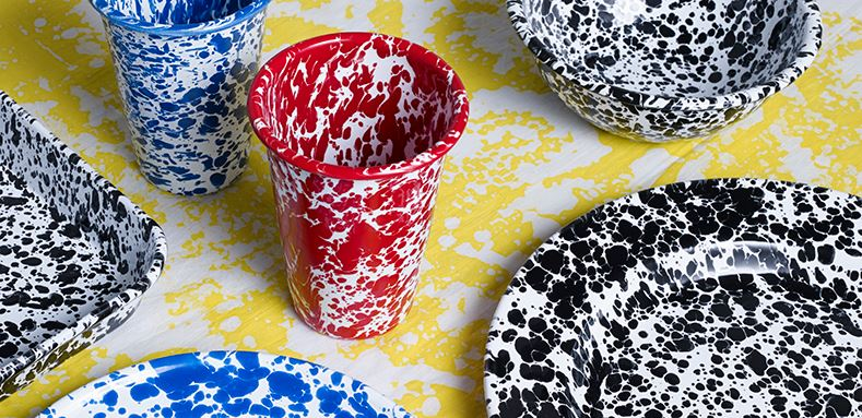 Crow Canyon Splatterware available at Darkroom