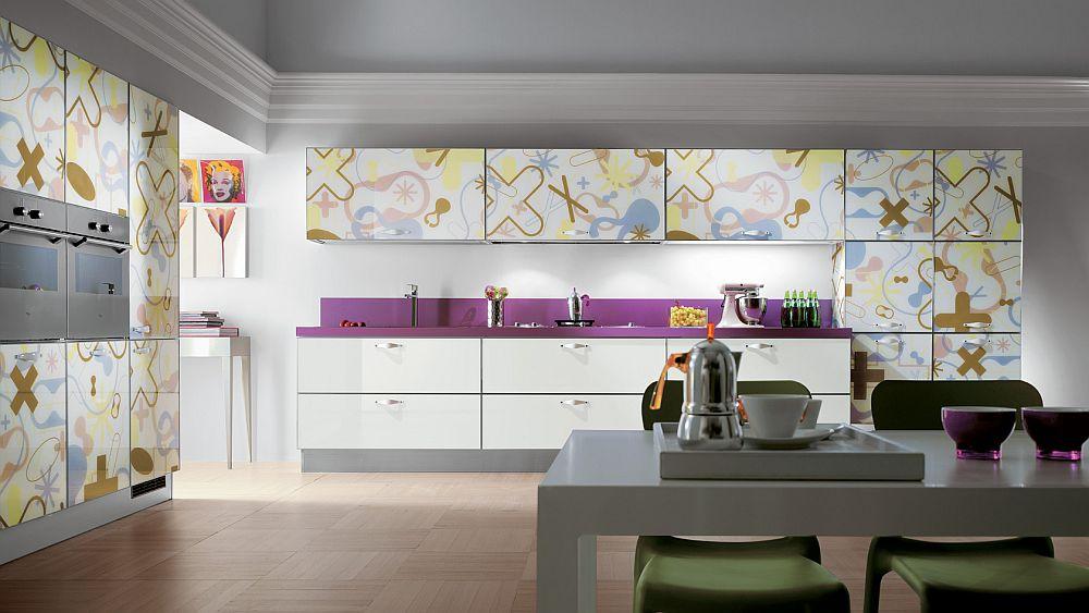 Crystal kitchen that is part of Karim Rashid's Karikon project