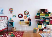 Cubby Wall Shelf Collection from The Land of Nod 217x155 10 Ways to Teach Your Kids to Clean Their Rooms