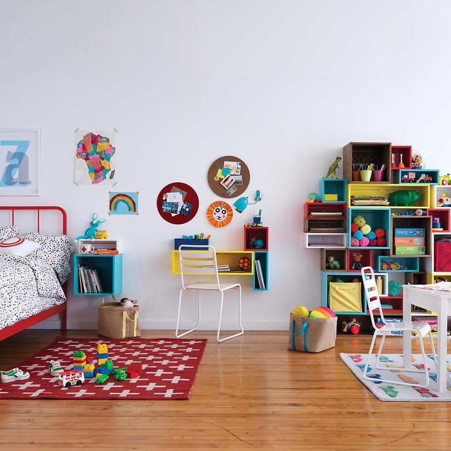 Cubby Wall Shelf Collection from The Land of Nod