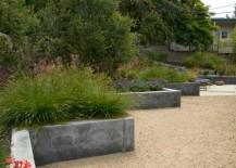 Custom concrete wall by Jeffrey Gordon Smith Landscape Architecture