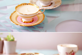 DIY Antique Teacup Candles  8 DIY Mother's Day Gifts You Can Make Yourself DIY Antique Teacup Candles 270x180