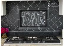 DIY-Painted-Blackboard-Backsplash-217x155