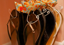 DIY Wire Shoe Hanger