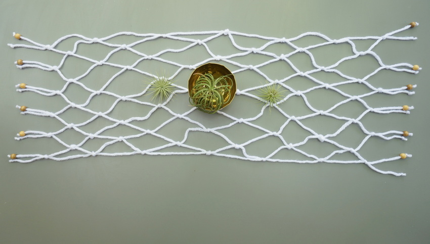 DIY table runner project An Easy Macrame DIY Table Runner
