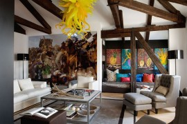 Eclectic Home in Venice Invites You into a World of Intriguing Art