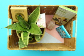 Easy DIY Gift Basket to Make for Mother's Day  8 DIY Mother's Day Gifts You Can Make Yourself Easy DIY Gift Basket to Make for Mothers Day 270x180