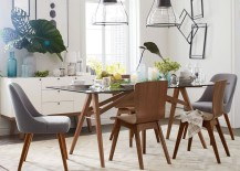 Eclectic-dining-room-with-tropical-leaves-217x155