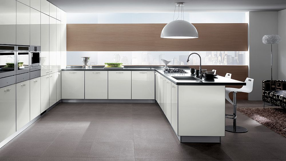 Elegant and modern appeal of the Crystal kitchen