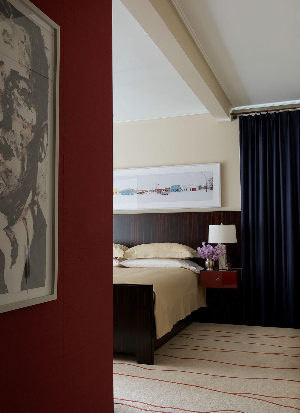 Elegant bedroom with a neutral color scheme