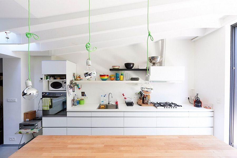 Elegant extension with a touch of quirky industrial charm