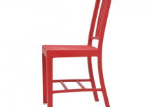 Emeco Red Recycled Chair