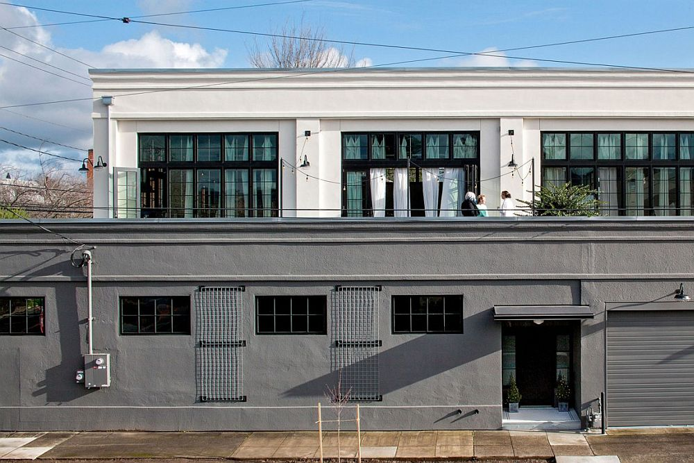 Energy-efficient home in Portland inspired by an old warehouse style