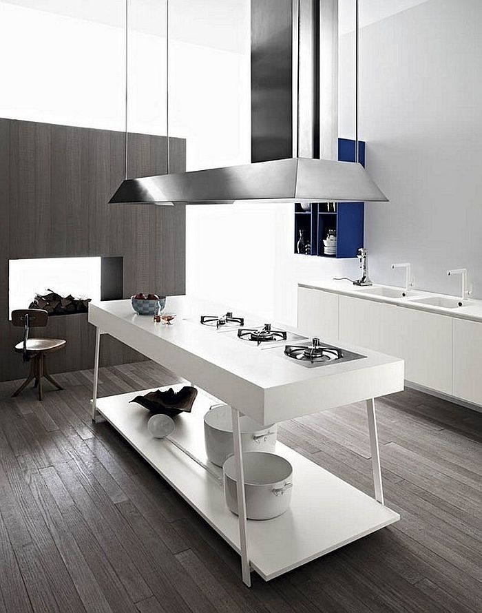Exclusive kitchen workstation and island design from Cesar