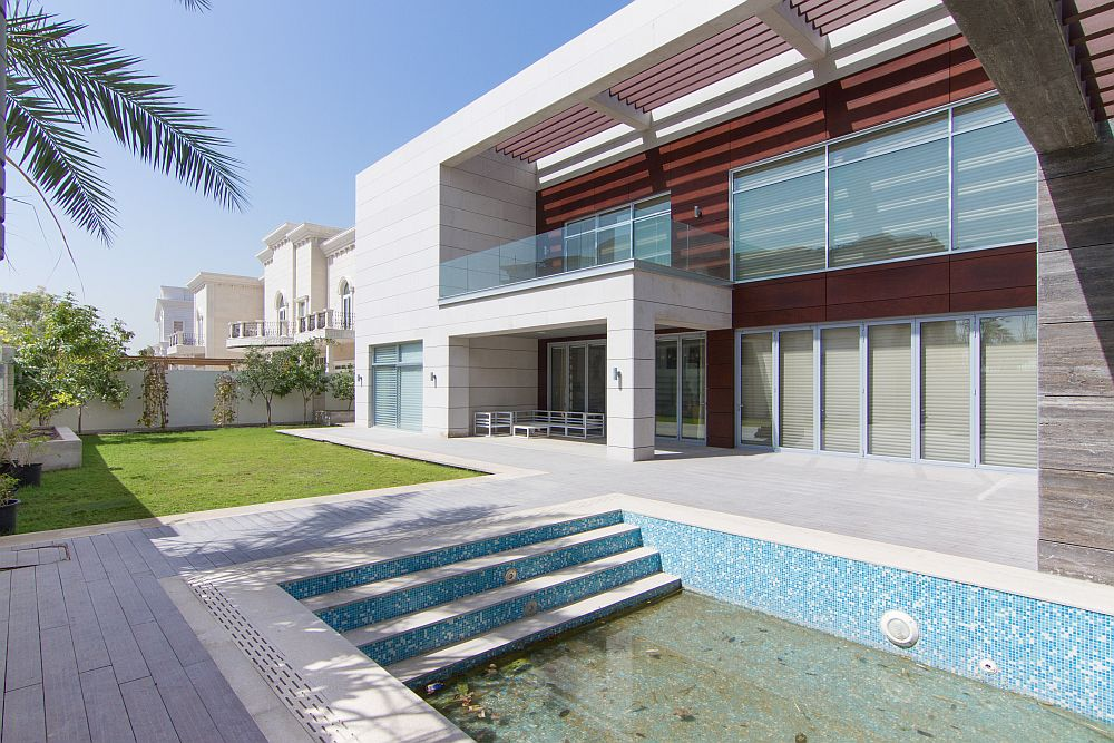 Exclusive villa in Emirates Hills with contemporary style