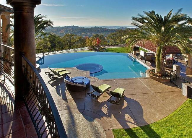 Outdoor Design Trend: 23 Fabulous Concrete Pool Deck Ideas