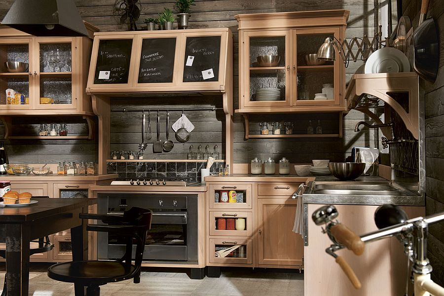 Fabulous kitchen combines traditional aesthetics with modern ergonomics