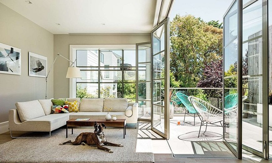 Multi-Level Victorian Home in San Francisco Gets a Cheerful, Modern Upgrade