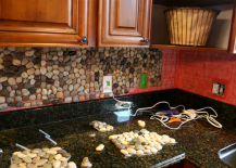 Garden Stone Backsplash